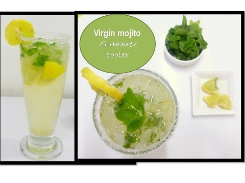 Lemonade Recipe [ Virgin mojito ] Refreshing  Summer drink| Deeps Kitchen