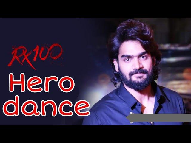 Rx 100 movie team || hero karthikeya dance|| Rx 100 promotion