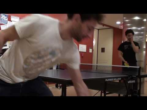 ping pong - practicing recovery