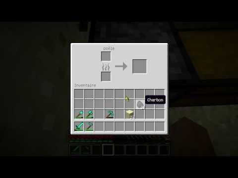 comment faire des verre vitre dans minecraft youtube. Black Bedroom Furniture Sets. Home Design Ideas