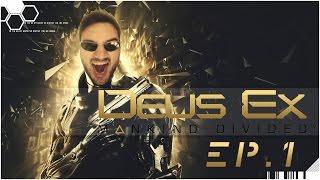 DEUS EX MANKIND DIVIDED | PC | Capitulo 1 | Esto es un JUEGAZO!!