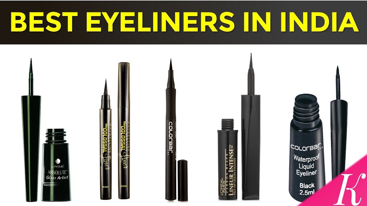 10 Best Eyeliners In India With Price Youtube