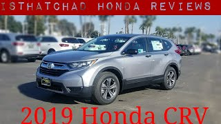 2019 Honda CRV FIRST-LOOK! is the CRV a better option than the Accord?