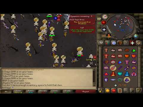 Winning $2.5k - Wilderness Wars Team MmorpgRS & Ancient Fury