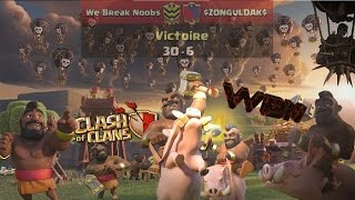 WAR RECAP WBN VS ZONGULDAK | PERFECT WAR | MASSE COMPO CLEAN GDC