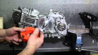 Montage allumage MVT sur moteur Dirt Bike 4T