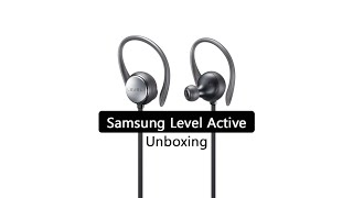 Samsung Level Active Unboxing