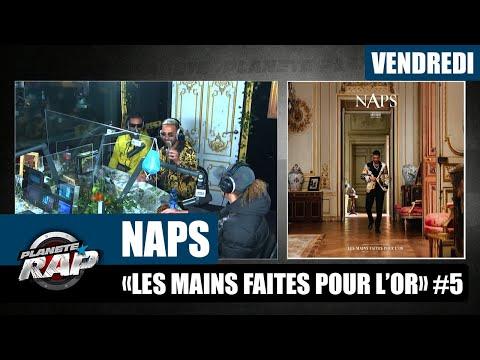 Youtube: Planète Rap – Naps«Les mains faites pour l'or» avec Soso Maness, Sauzer, Sysa et Yas #Vendredi