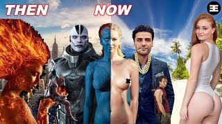 X-Men All Cast Then And Now