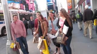 НЬЮ-ЙОРК - ГОРОД ВИНЕГРЕТ. БРОУНОВСКОЕ ДВИЖЕНИЕ.