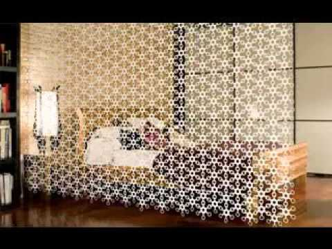 kreative raumteiler ideen youtube. Black Bedroom Furniture Sets. Home Design Ideas