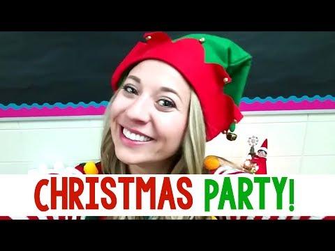 Classroom Christmas Party | A Classroom Diva