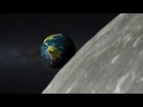 The Earth from Moon- Incredible Timelapse Footage | Rahul Omar