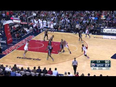 San Antonio Spurs vs Washington Wizards   November 4, 2015   NBA 2015-16 Season
