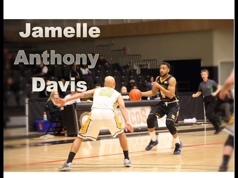 SICK Season Highlights - Jamelle Anthony Davis 2016/2017 Canada Season