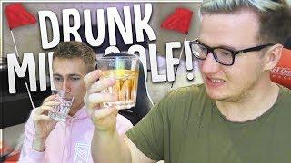 THIS WAS A MISTAKE! - DRUNK MINI GOLF w/ MINIMINTER