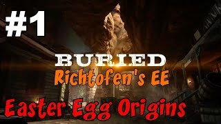 END GAME ON BURIED!▐ CoD Zombies EE ORIGINS - BURIED: Richtofen
