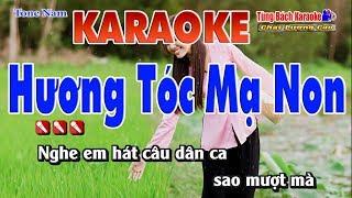 Hương Tóc Mạ Non Karaoke - Nhạc Sống Tùng Bách