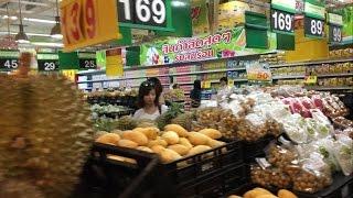 Цены в Таиланде: на продукты, мясо, фрукты, пиво, молочка и вещи! Супермаркет Big C на Патонге 2016(Большой Обзор цен в гастрономе Биг Си который находится в Торговом центре jungceylon на острове Пхукет, Таиланд..., 2016-02-29T06:16:14.000Z)