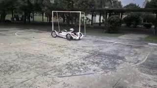 Auto eléctrico de la Escuela Técnica N* 1