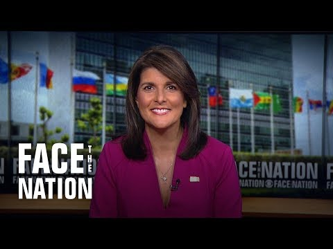 "UN Ambassador Nikki Haley on sanctioning allies doing business with Iran:  ""We're not giving them a"