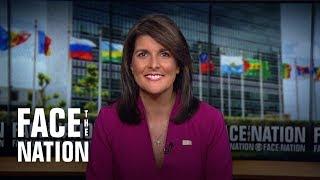 UN Ambassador Nikki Haley on sanctioning allies doing business with Iran: