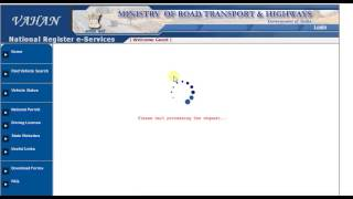 how to find vehicle registration status online form vehicle number    csc video
