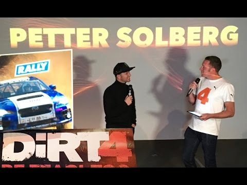 Petter Solberg plays Dirt 4 (and crashes)