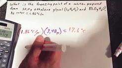 hqdefault - Ethylene Glycol Freeze Point Depression