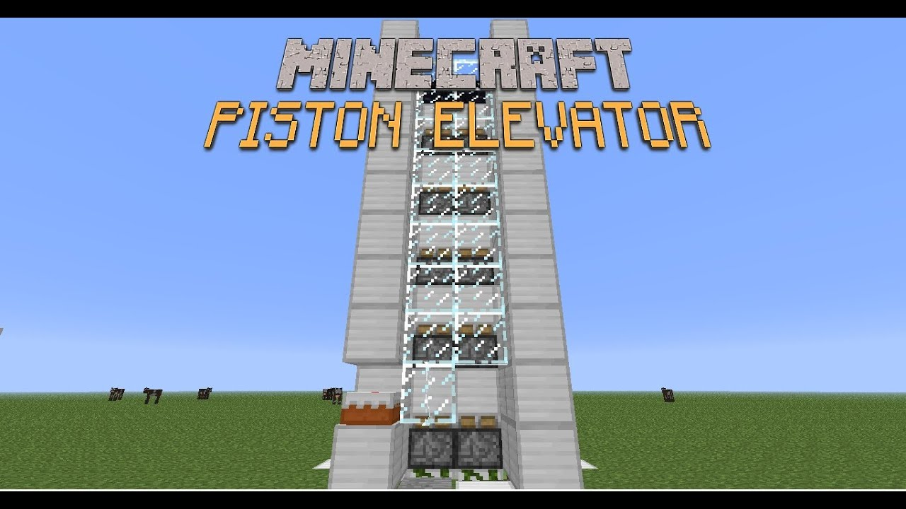 How to Build an Elevator in Minecraft - wikiHow