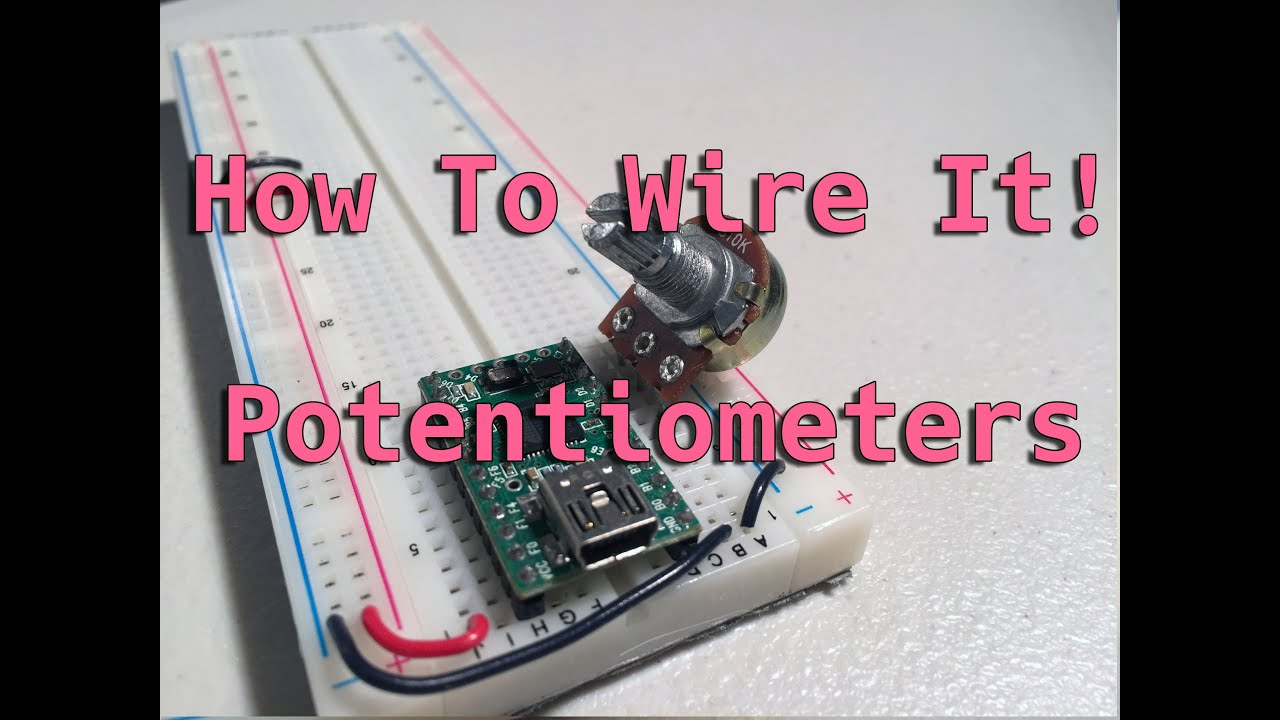 How To Wire It! Potentiometers Wiring A Potentiometer on wiring a voltmeter, wiring a coil, wiring a load cell, wiring a ammeter, wiring a pump, wiring a diode, liquid rheostat, wiring a timer, wiring a terminal, zero-ohm link, wiring a battery, resistance wire, resettable fuse, wiring a counter, string potentiometer, wiring a pot, wiring a joystick, wiring a antenna, wiring a washer, wiring a button, digital potentiometer, wiring a lcd, wiring a choke, wiring a mosfet, resistance thermometer, wiring a power cord, wiring a thermistor,