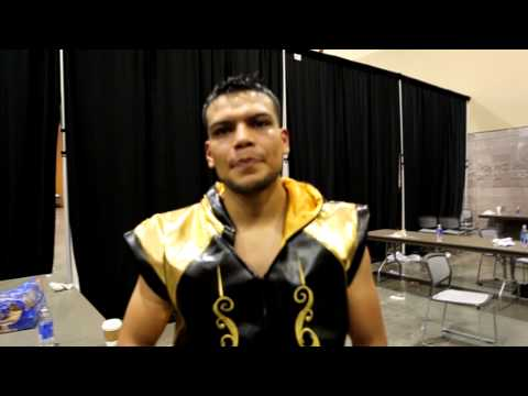 Abel Ramos Post Fight Interview BM Promotions