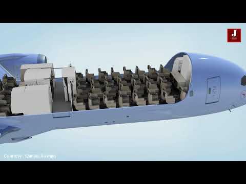 First look : Qantas New 787-9 lavish Dreamliner