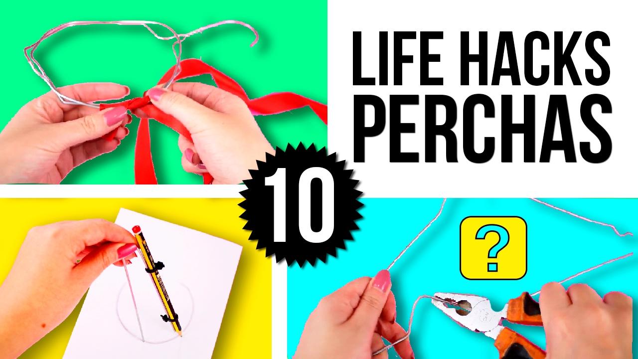 10 Cosas Increibles Que Puedes Hacer Con Perchas Life Hacks O Trucos Con Ganchos Para La Ropa Youtube