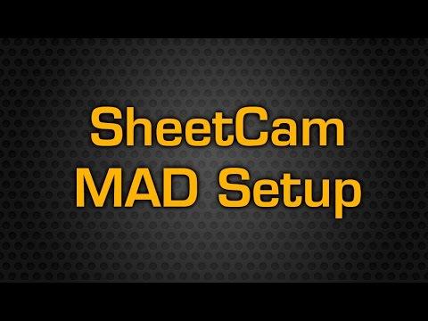 Mad Series Plasma Table Sheetcam Setup Youtube