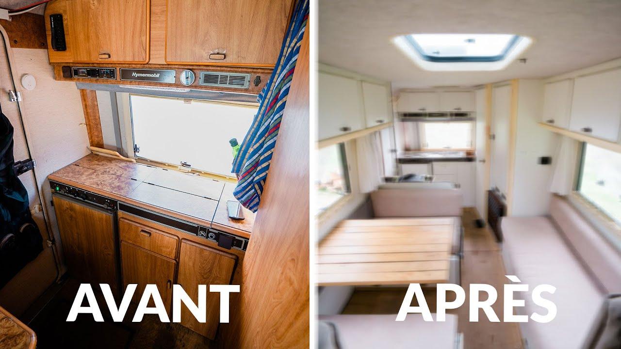 57 je repeins l interieur de mon bus van camping car renovation ep 2