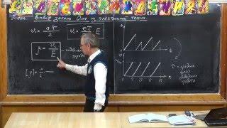 Урок 295. Вывод закона Ома из электронной теории