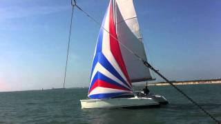 sailing catamaran Aventura 23