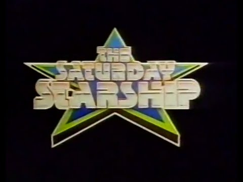 Saturday Starship titles  1984  Tyne Tees continuity  Judi Lines