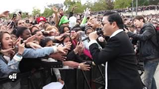 "PSY in Paris: ""Gangnam Style"" flashmob at Trocadéro"