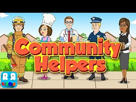 Community Helpers Play & Learn - Educational Game For Kids (By Paper Boat Apps) - IOS / Android