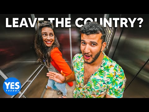 Asking Strangers in Elevators to Leave the Country on the Spot!