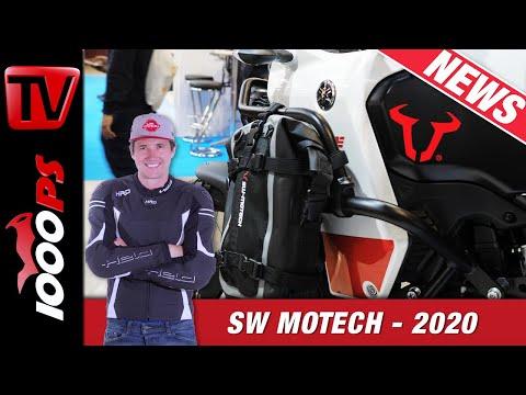 SW-Motech Motorrad Zubehör 2020 - Kompakter Tankring und vieles für Tenere