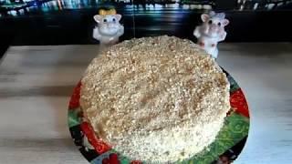 Торт быстрый на сковороде(быстро,вкусно и легко готовить)Пошаговый короткий рецепт.