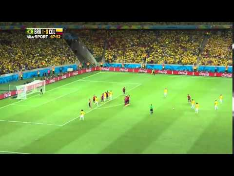 FIFA World Cup 2014   Brazil vs  Colombia Highlights   iTV