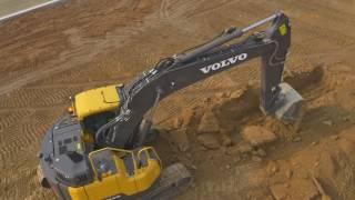 Volvo E series crawler excavators - control your costs