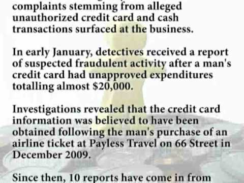 First Central Mortgage Funding reports on Travel Agency Credit Card Fraud