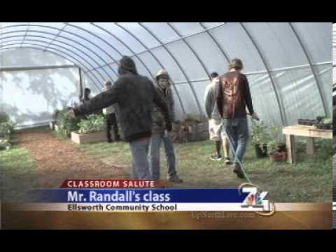 7&4 visits Mr. Randall's class at Ellsworth Community Schools