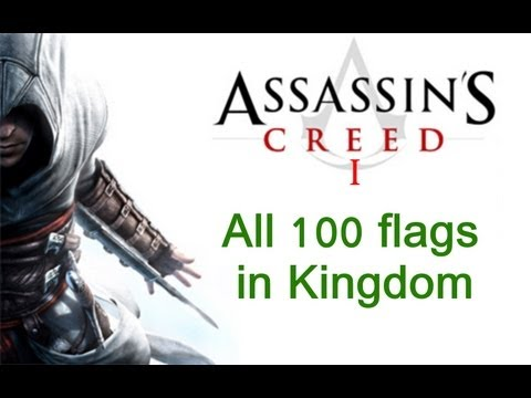 """""""Assassin's Creed 1"""", All 100 King Richard Flags Locations In Kingdom"""