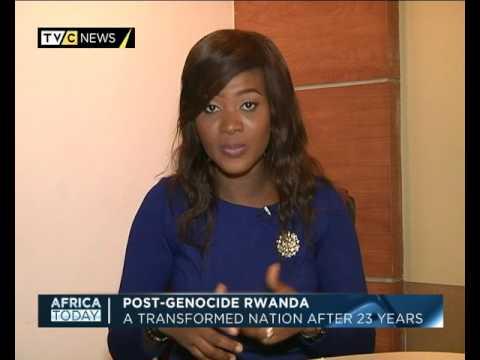 AFRICA TODAY ON POST GENOCIDE RWANDA WIITH AZEEZAT OLAOLUWA